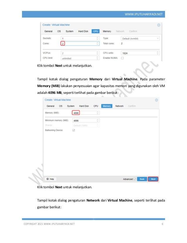 COPYRIGHT 2021 WWW.IPUTUHARIYADI.NET 6 WWW.IPUTUHARIYADI.NET Klik tombol Next untuk melanjutkan. Tampil kotak dialog penga...
