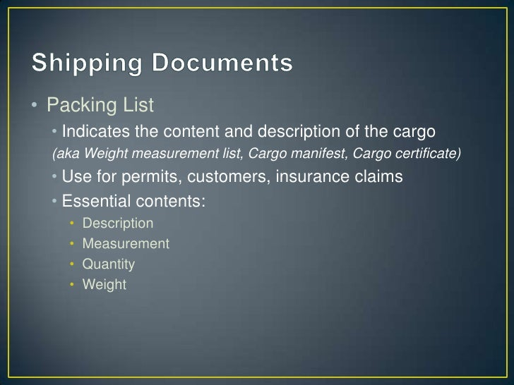 What is RISK?- Of Damage – condition of cargo before vs after- Of Loss – disappearance of cargo (i.e. stolen, hi-jack,  dr...