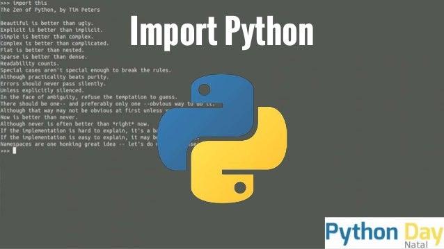 Import Python
