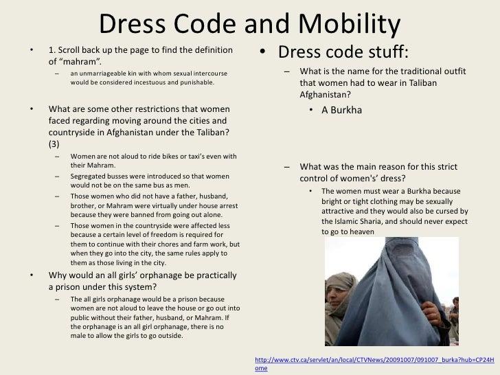 Model Taliban Women Dress Code Saving Women39s Rights In A Postwar