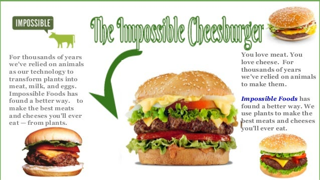 Impossible Burger: Impossible Cheesburger