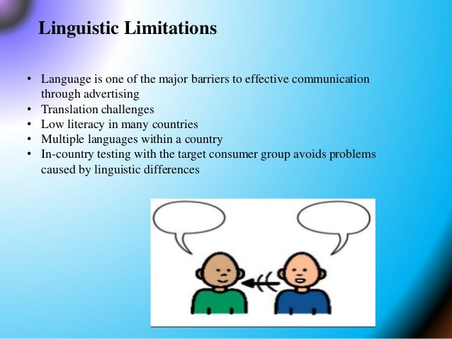international marketing communication problems International agriculture ag marketing resource center practice the suggestions below to improve your communication skills during problem solving discussions.