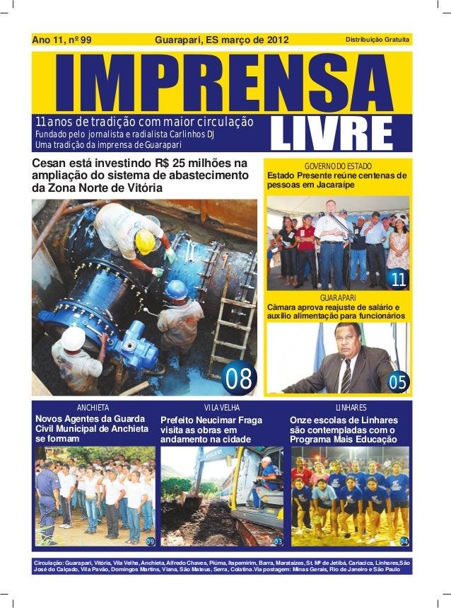 Ano 11, nº 99                                    Guarapari, ES março de 2012                                              ...