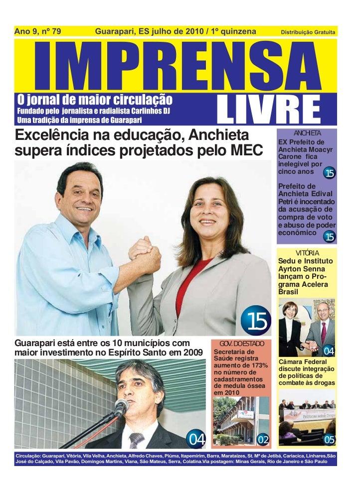 ANCHIETAExcelência na educação, Anchieta                                 EX Prefeito desupera índices projetados pelo MEC ...