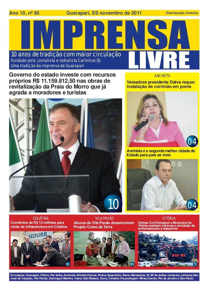 Ano 10, nº 95                               Guarapari, ES novembro de 2011                                                ...