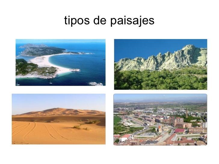 Tipos de paisajes - Tipos de paisajes ...