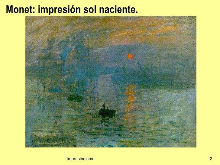 Impresionismo Slide 2