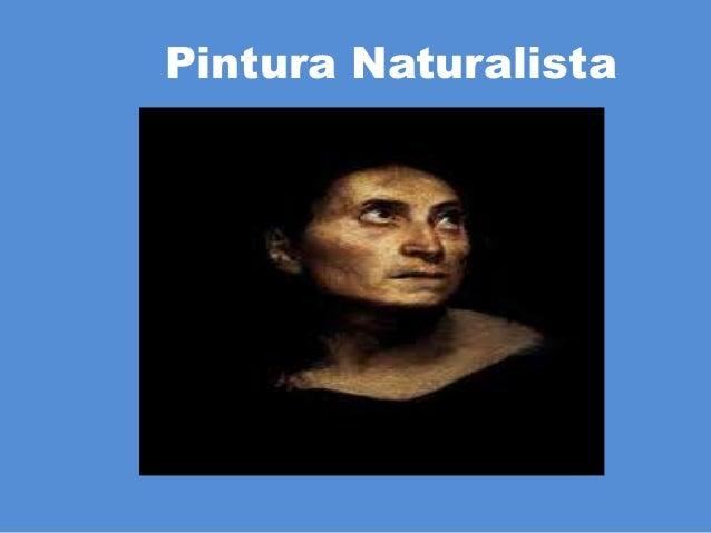 Pintura Naturalista