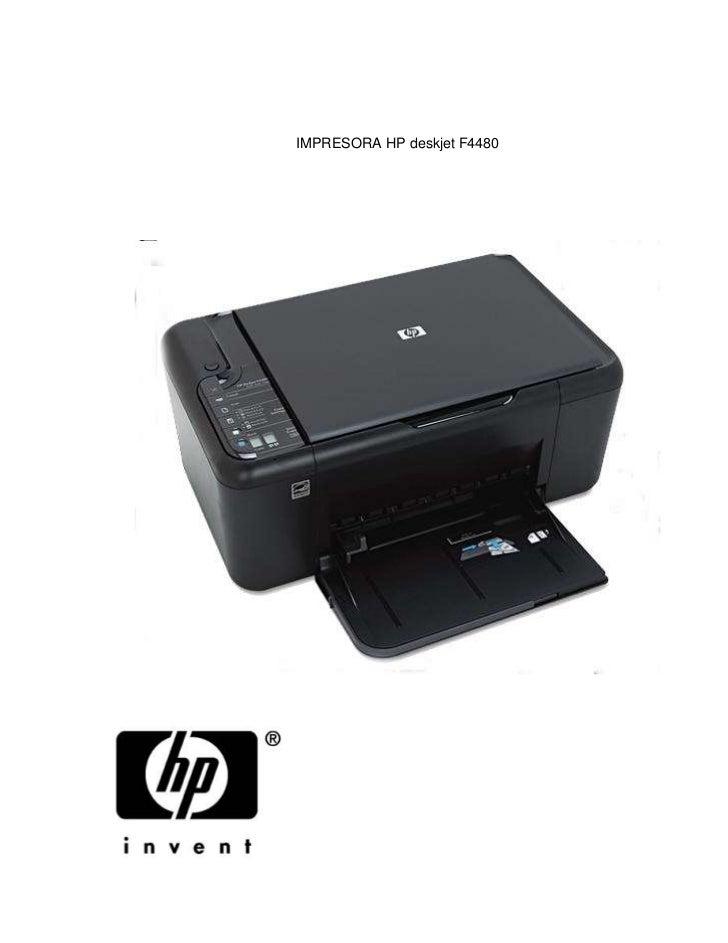 impresora hp deskjet f4480 rh es slideshare net hp deskjet f4480 guide hp deskjet f4480 manual de uso