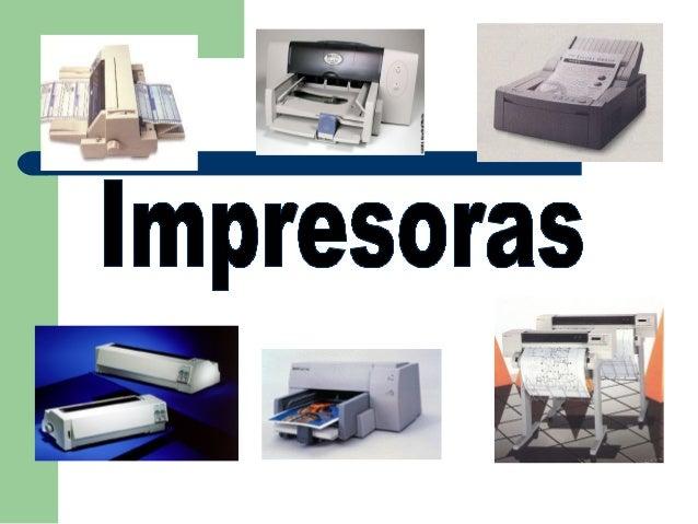 TIPOS DEIMPRESORASMATRICIALES ODE IMPACTOSIN IMPACTOMATRIZ DE PUNTOS(DOT MATRIX)MARGARITA(DAISY WHEEL)DE BANDADE LINEADE B...
