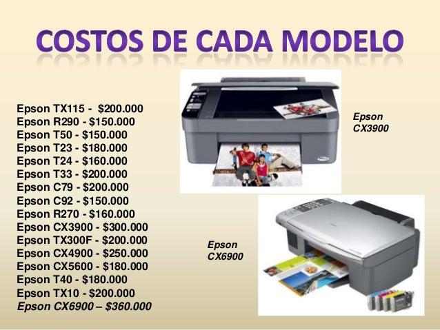 Impresoras Con Sistema De Tinta Continua