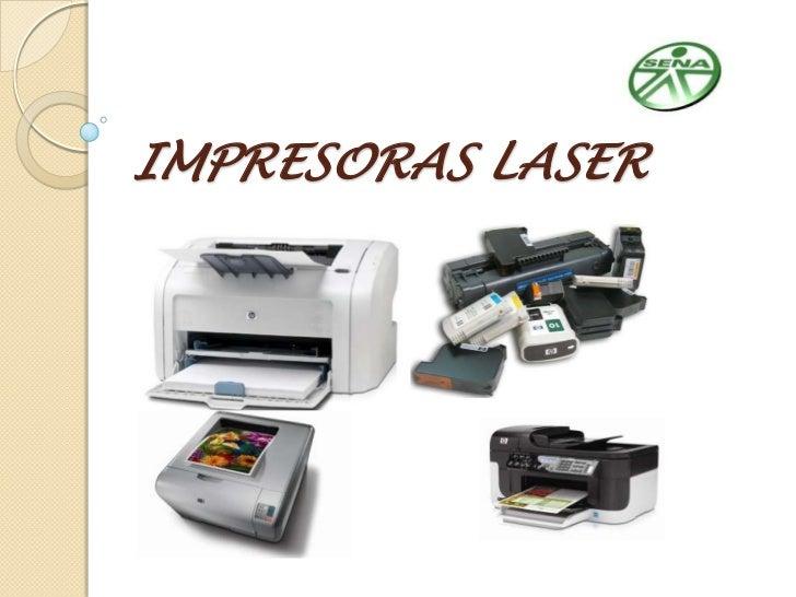 IMPRESORAS LASER<br />