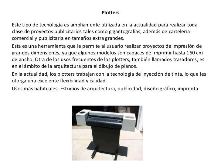 Impresoras y plotters for Cuando se creo la arquitectura