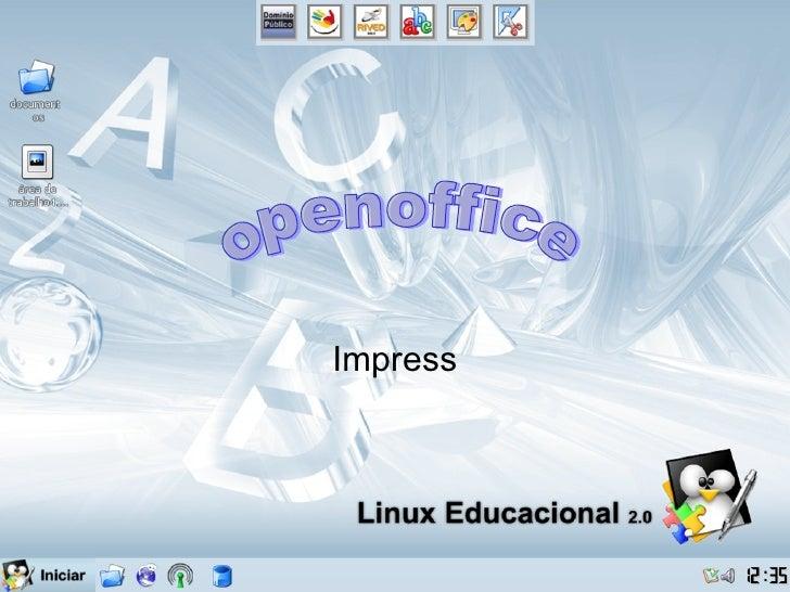 Impress openoffice