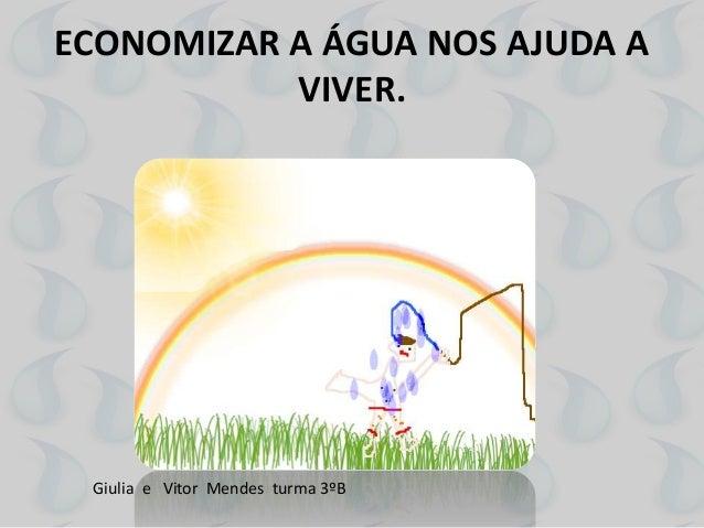 DICAS PARA EVITAR O DESPERDÍCIO DE ÁGUA Slide 3