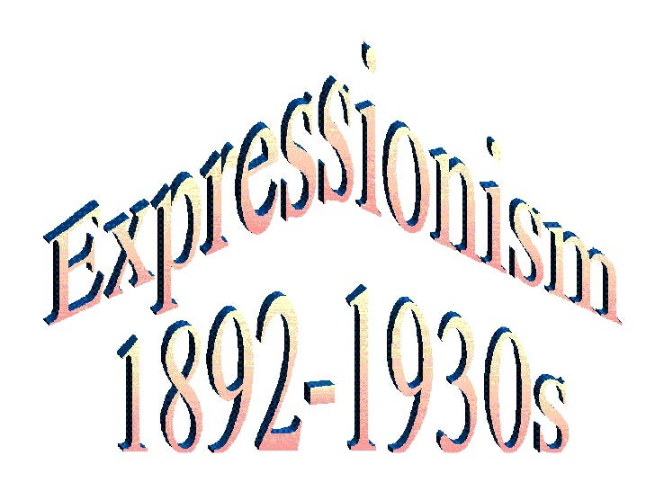 a comparison of post impressionists and expressionists ideas Abstract expressionists used color and scale to create a sense of spirituality and the sublime abstract expressionism and jazz compare collaboration was.