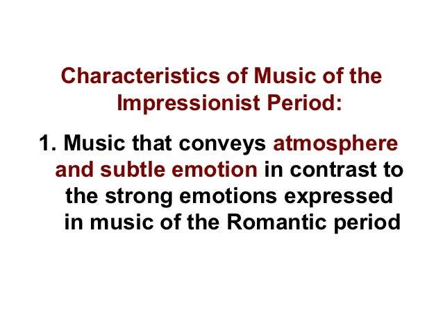 impressionism music definition