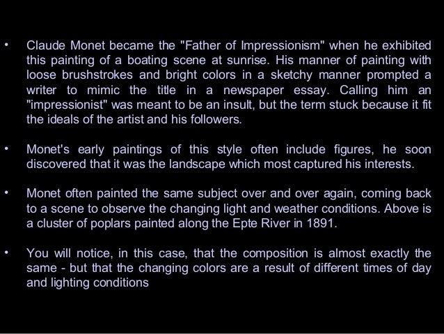 impressionists impressionism  10