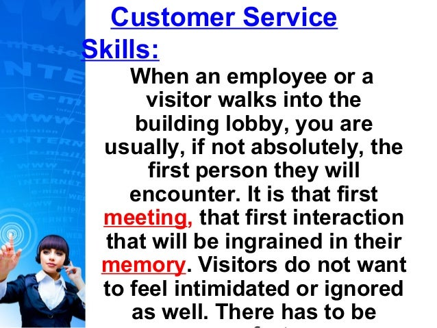 Impressions- Customer Service Skills- April 2013