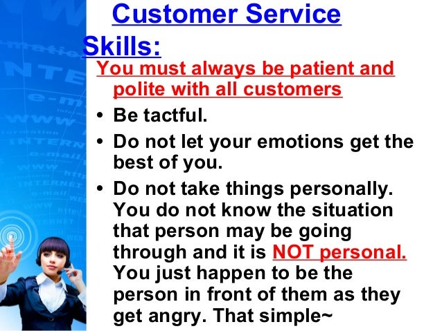 best customer service skills