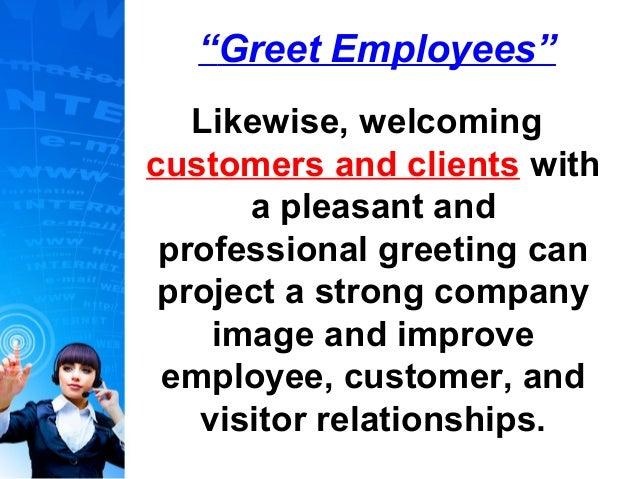 strong customer service skills