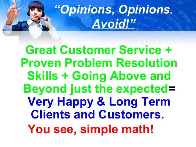 Impressions- Customer Service Skills- April 2013