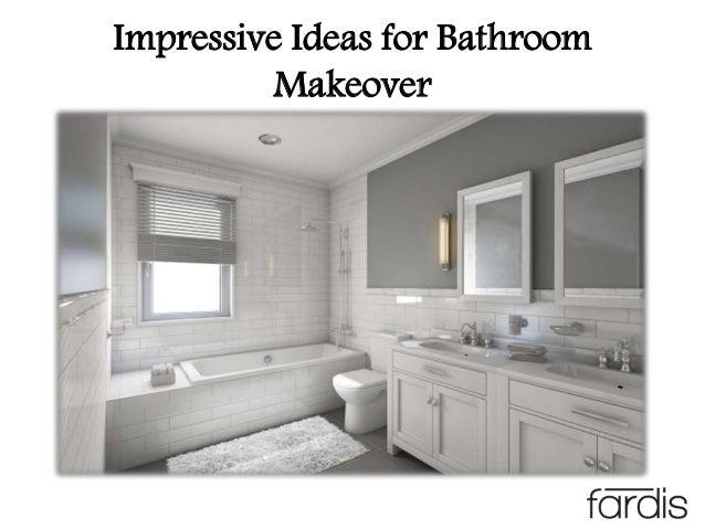 Impressive Ideas for Bathroom Makeover