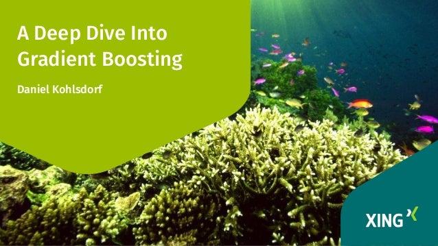 A Deep Dive Into Gradient Boosting Daniel Kohlsdorf
