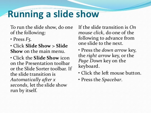Libre Office Impress Lesson 2: Creating a Slide Show