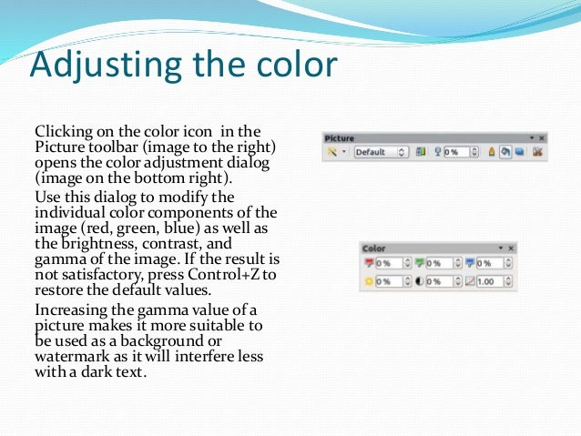 Libre Office Impress Lesson 3: Adding and Formatting pictures