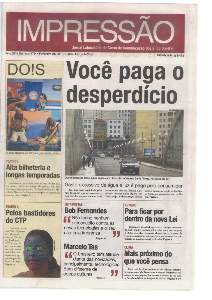 Jornal Impressão