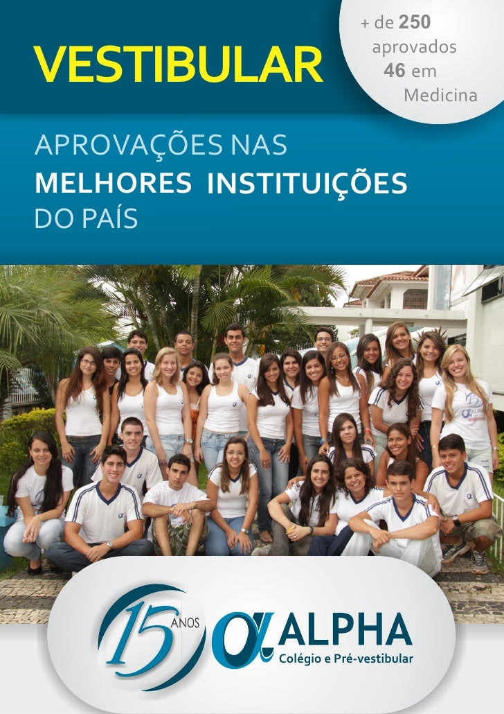 + de 250                            aprovadosVESTIBULAR                    46 em                                MedicinaAP...
