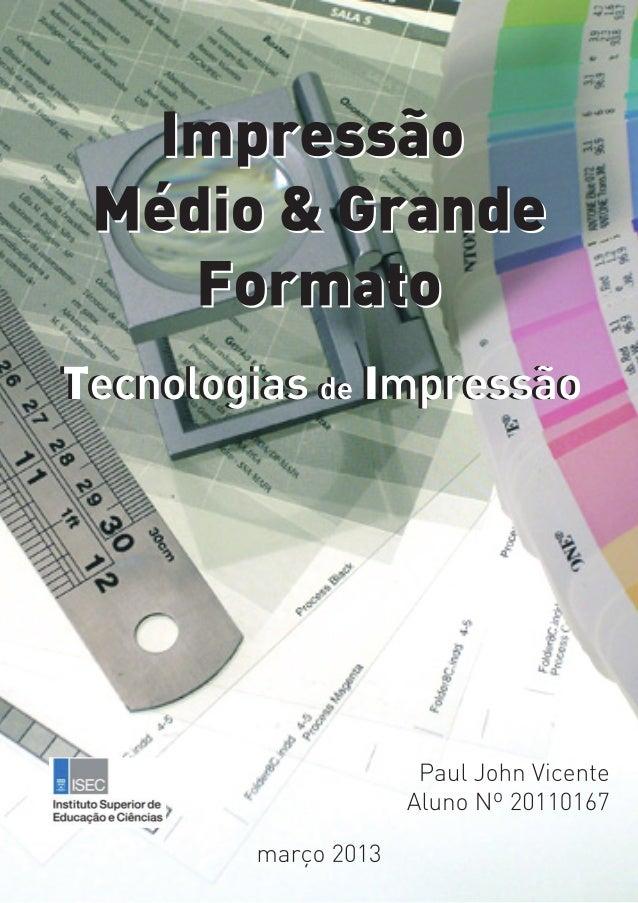 Mestrado em Tecnologias Gráficas – IV Edição                                                                             T...
