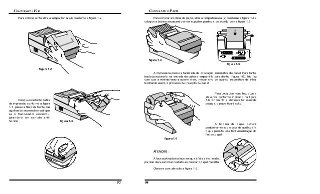Impressora mp20 mi manual manual do usuario