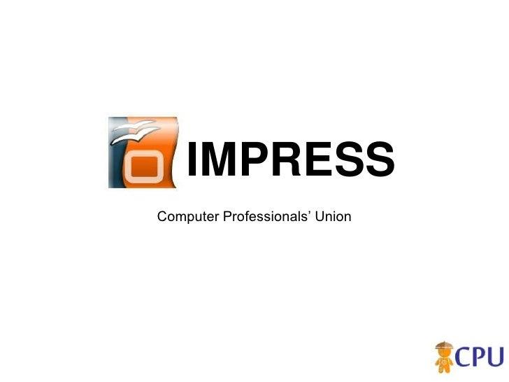IMPRESS Computer Professionals' Union