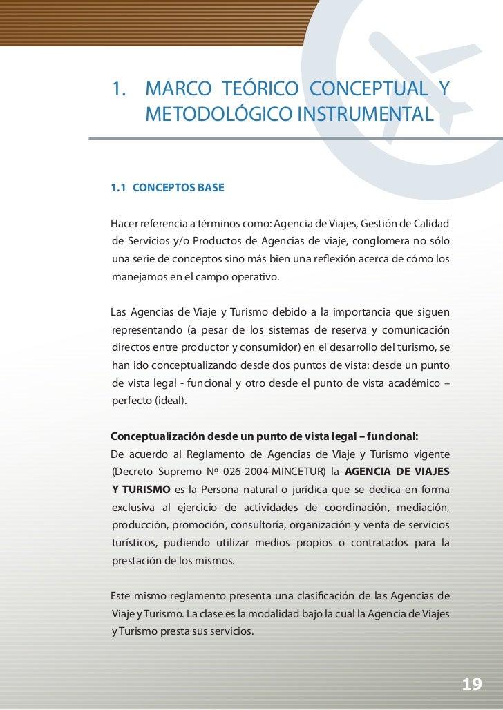 Manual de Calidad Turística para Agencias de Viajes y Turismo          Las clases de Agencias de Viaje y Turismo son:     ...