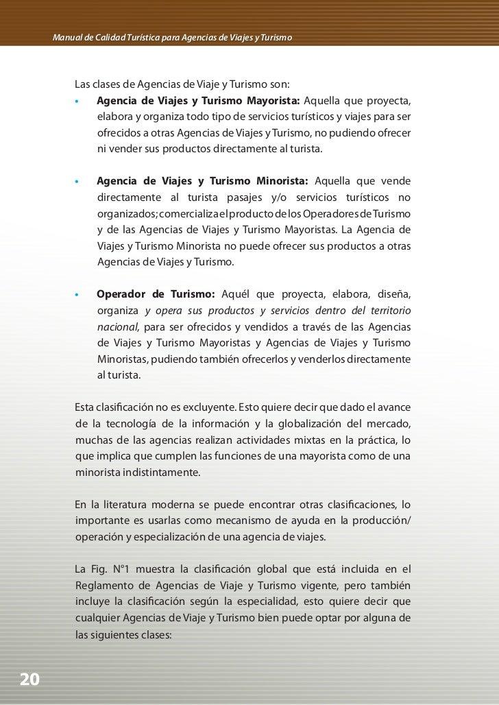 Fig. N° 1 Clasificación de las Agencias de Viaje y Turismo de acuerdo a la especialidad• Emisoras: agencias que atienden ...