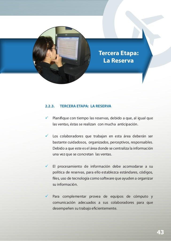 Manual de Calidad Turística para Agencias de Viajes y Turismo                 Aquellas empresas que se dedican a la vent...