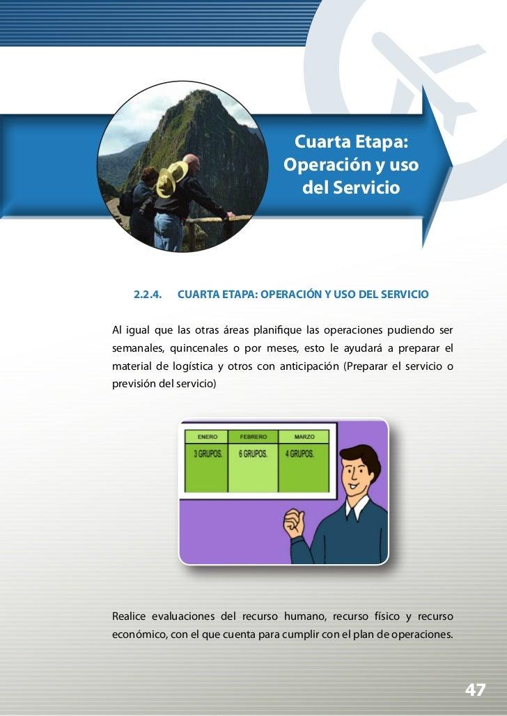 Manual de Calidad Turística para Agencias de Viajes y Turismo          No olvide que el cliente es parte del servicio, est...