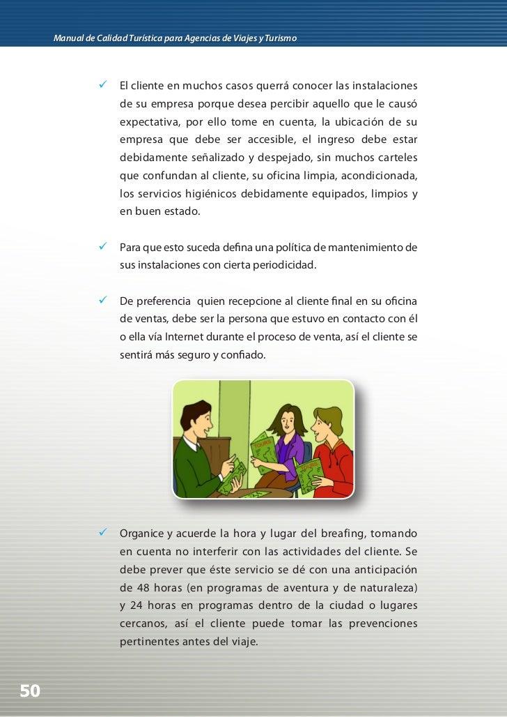 Manual de calidad para agencias de viaje for Importancia de la oficina dentro de la empresa wikipedia