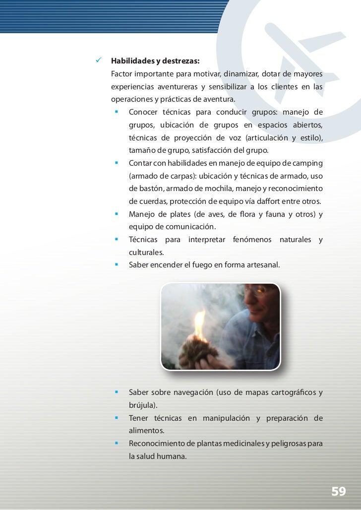Manual de Calidad Turística para Agencias de Viajes y Turismo                        Técnicas en anclajes e identificaci...