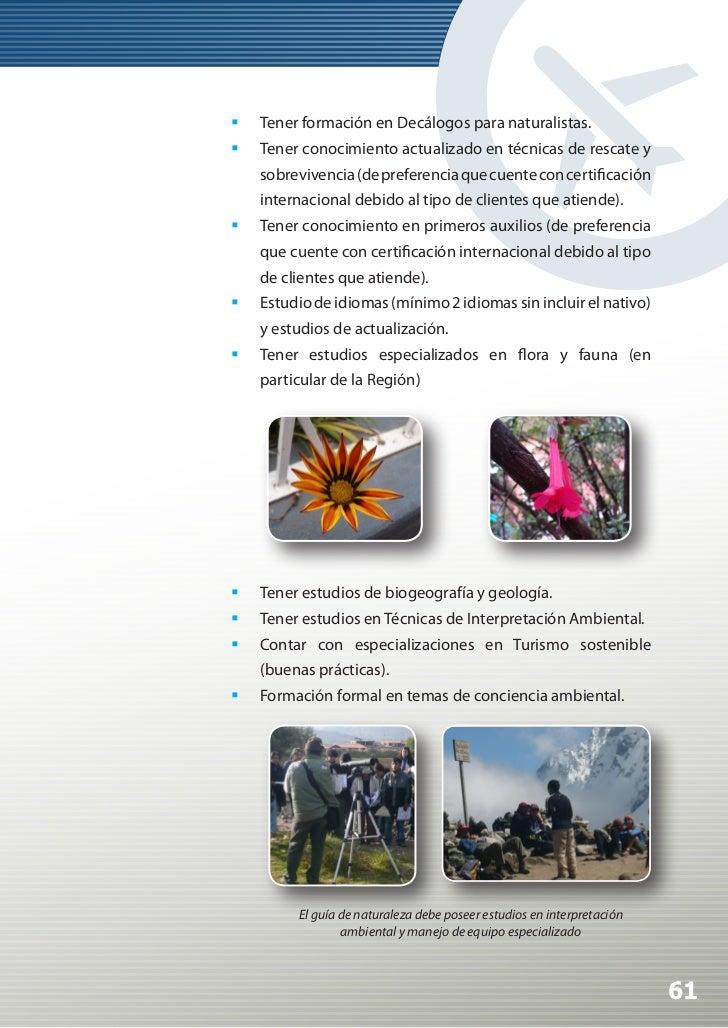 Manual de Calidad Turística para Agencias de Viajes y Turismo                 Habilidades y destrezas:                  ...