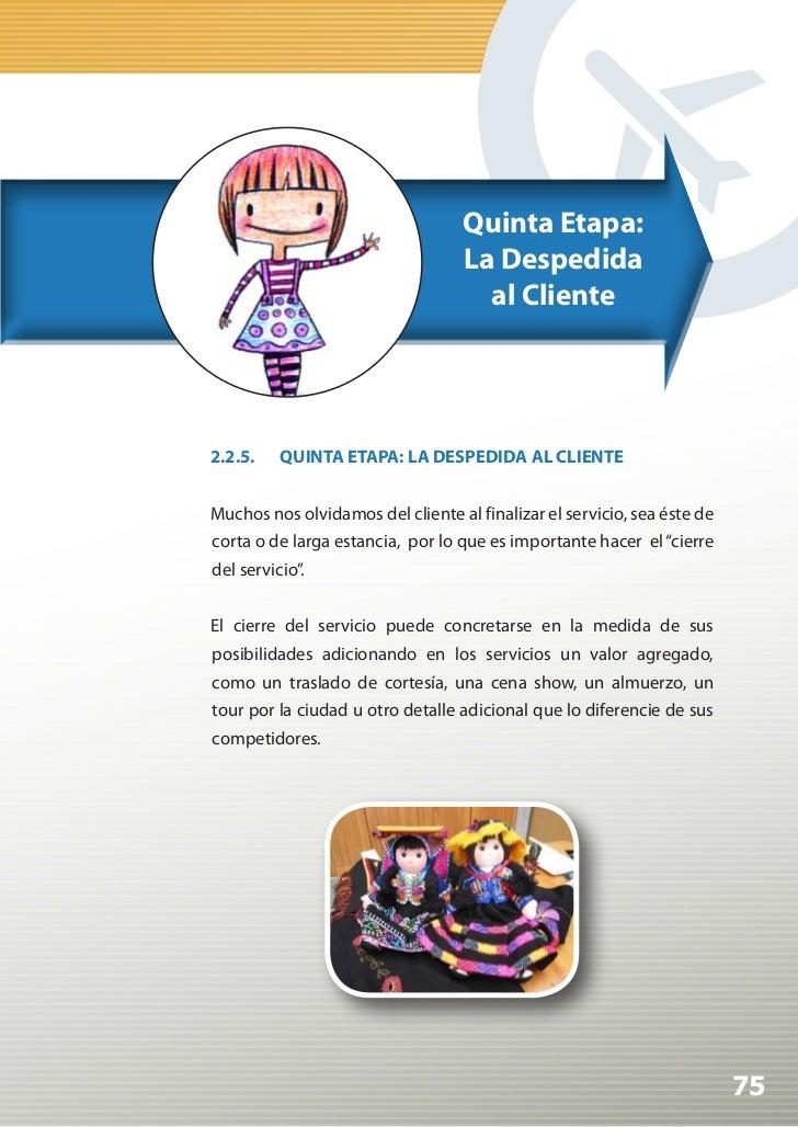 Manual de Calidad Turística para Agencias de Viajes y Turismo                                                         Sext...