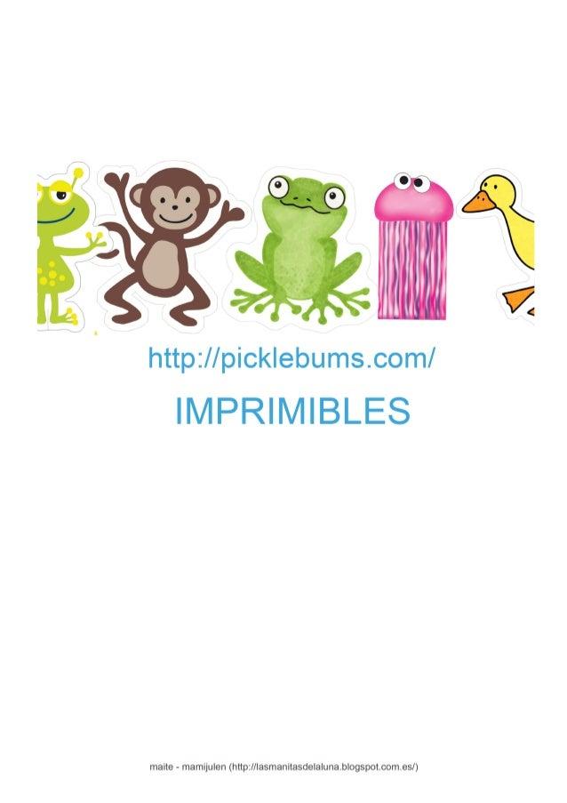 Imprimibles picklebums for Picklebums
