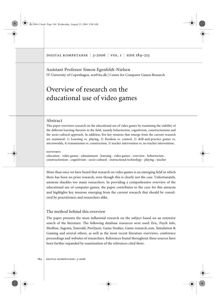 dk-2006-3.book Page 184 Wednesday, August 23, 2006 9:08 AM                   digital kompetanse | 3-2006 | vol. 1 | side 1...