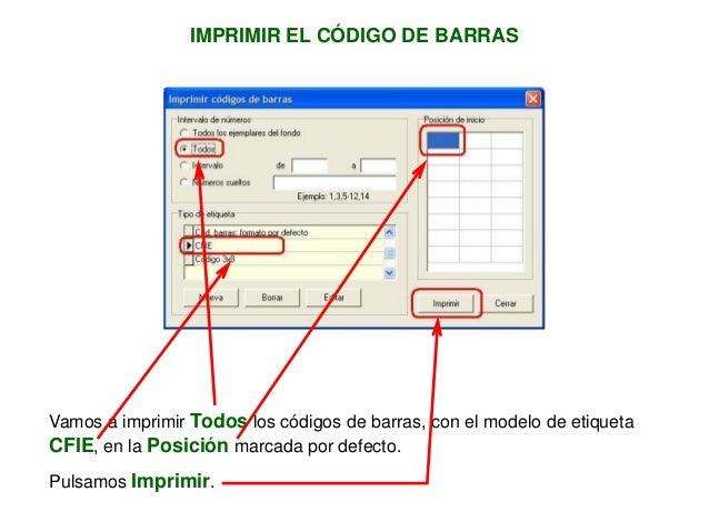 Imprimir C 243 Digo De Barras