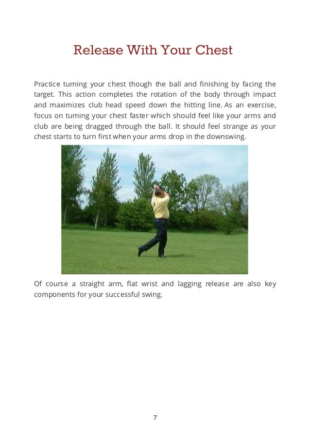 Ways to Improve Your Golf Swing Consistancy