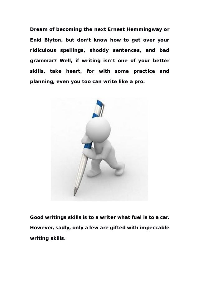 improve your writing skills tips to improve your writing skills 2