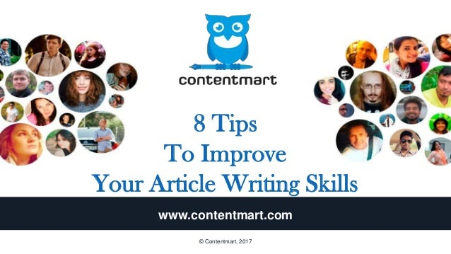8 effective tips to boost article writing skills