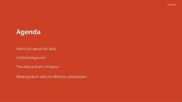 Improv(e) collaboration in your team Slide 2